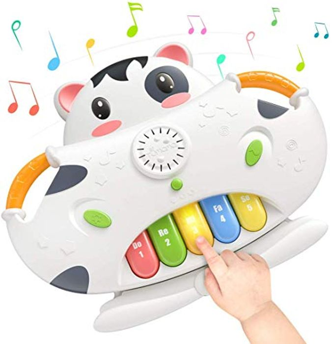 Price Drop! Sound Toy 2-in-1 Piano Musical Toys & Shape Sorter Blocks Toys