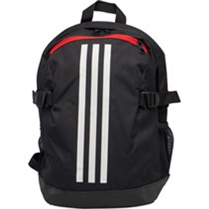 Adidas Power 4 Backpack Black/White/White