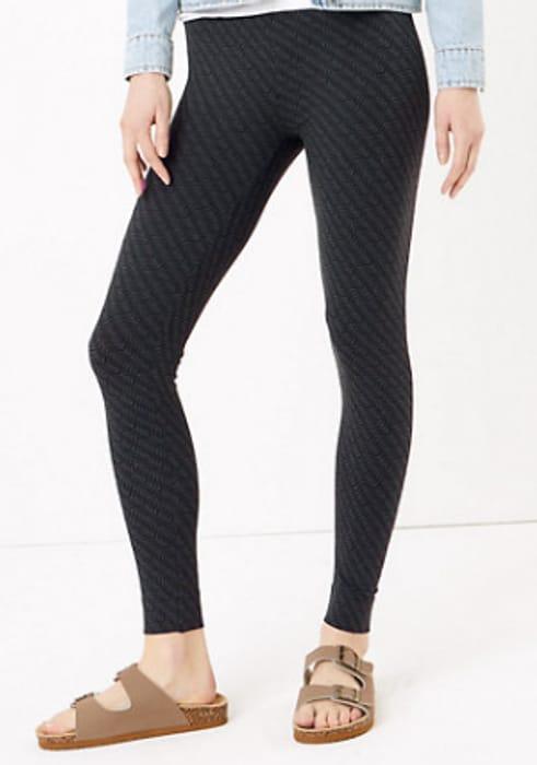 M&S High Waisted Leggings - Black or Khaki