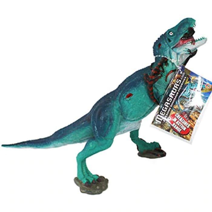 Turquoise Tyrannosaurus Rex Dinosaur Figurine