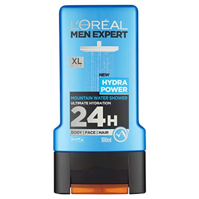 L'Oreal Men Expert Hydra Power Shower Gel, 300ml
