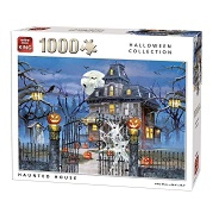 Halloween Haunted House Jigsaw Puzzle 1000 - Only £4.37!