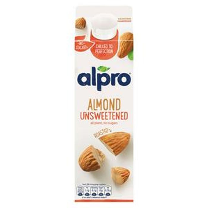 Alpro Roasted Almond Unsweetened Fresh Drink 1L