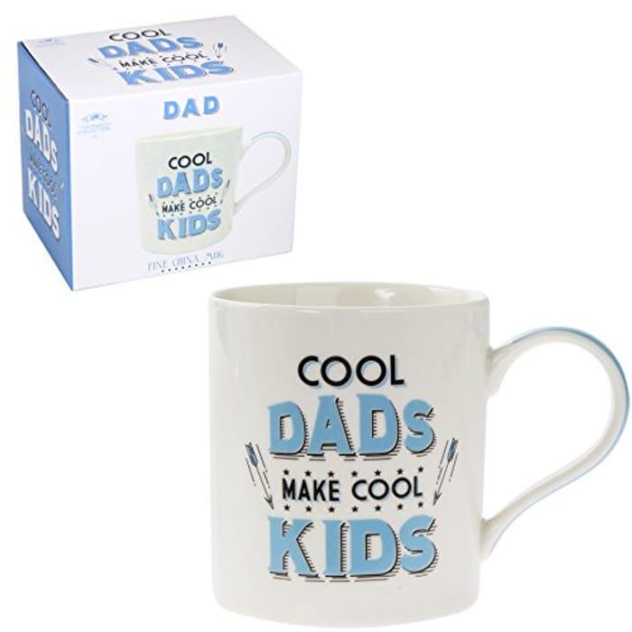 CHEAP! Fine China Father's Day Dad Mug - Cool Dads Make Cool Kids