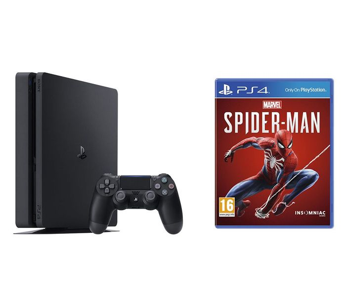 SONY PlayStation 4 & Marvel's Spider-Man Bundle - 500 GB Only £249