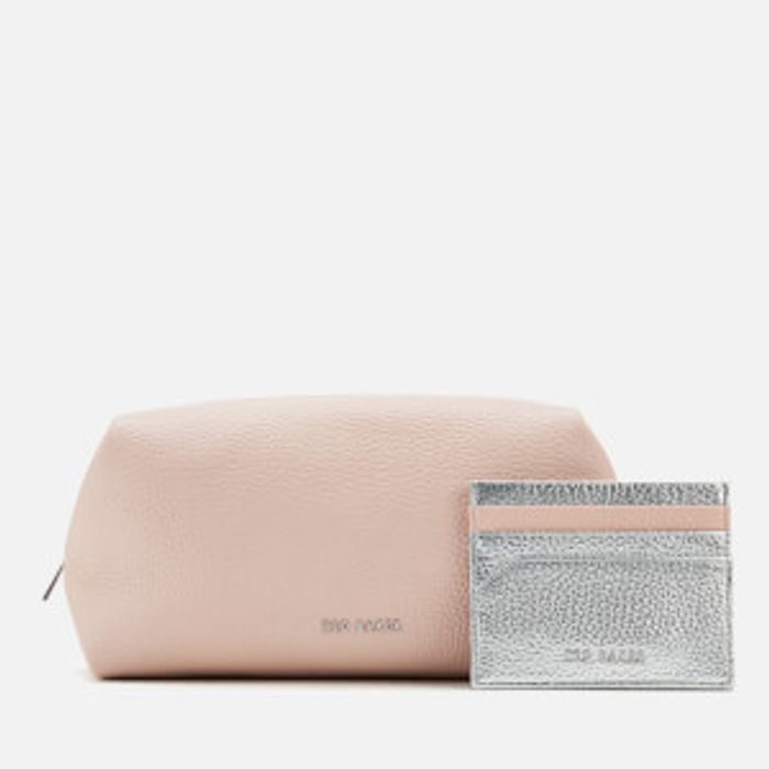 Ted Baker Women's Zori Leather Washbag Gift Set