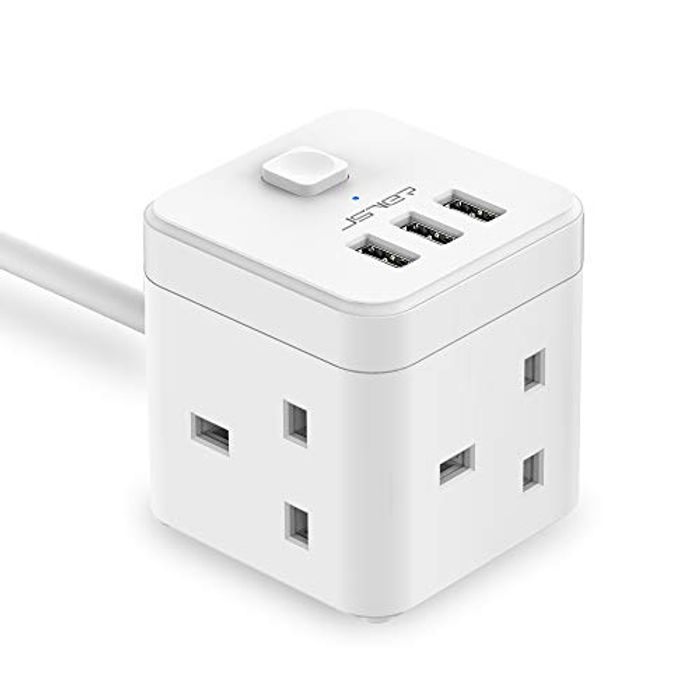 SVER Cube Extension Lead with USB