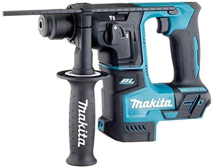 Makita DHR171Z 18V Li-Ion LXT Brushless Rotary Hammer, 480 W, 18 V, Blue, 17 Mm