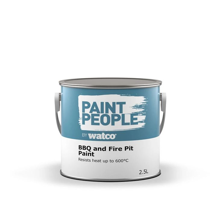 Cheap BBQ & Fire Pit Paint 2.5L at Paintpeople Only £17.99!