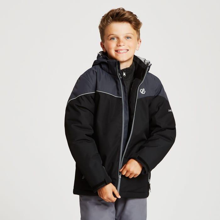 Dare 2B - Black 'Oath' Waterproof Insulated Hooded Jacket