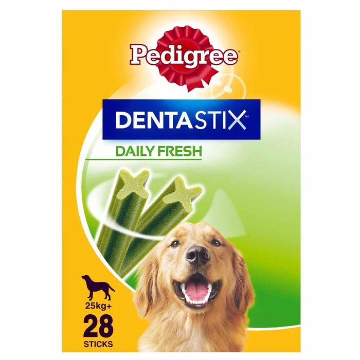 Best Price! Pedigree 28 Pack Dentastix Daily Oral Care Dog Treats for Large Dogs