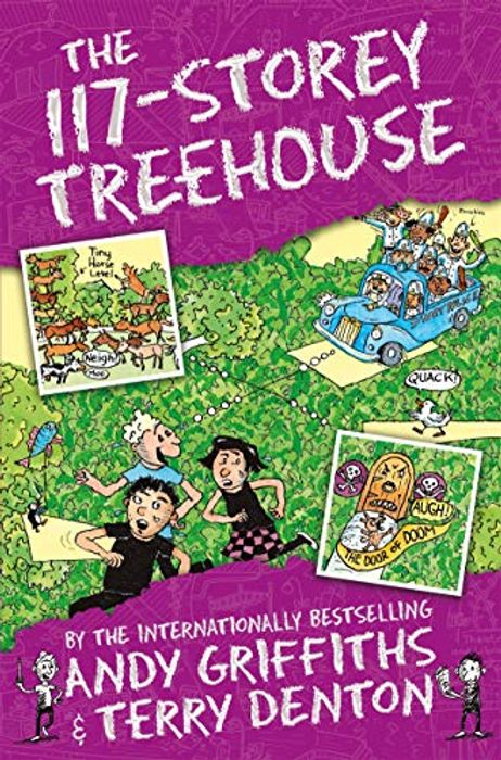 117 Story Treehouse Book on Sale From £6.99 to £3.49