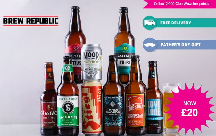 Brew Republic Father's Day Gift Case - 9 Beers, Glass & Delivery Included!