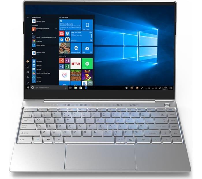 "*SAVE £20* GEO Book3Si 13.3"" Laptop - Intel Core i3, 128 GB SSD, Silver"