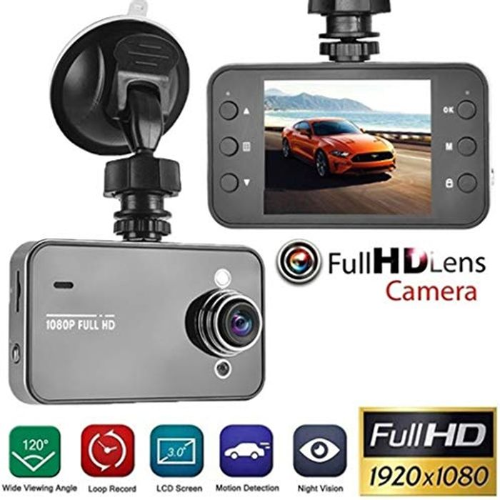 FastDirect Multi-Function Night Vision Dash Camera