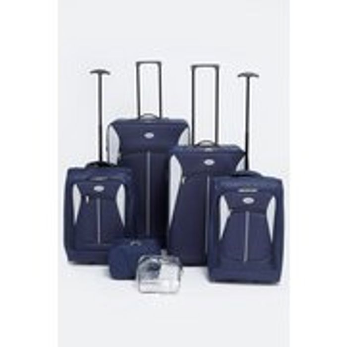 6-Piece Complete Luggage Set