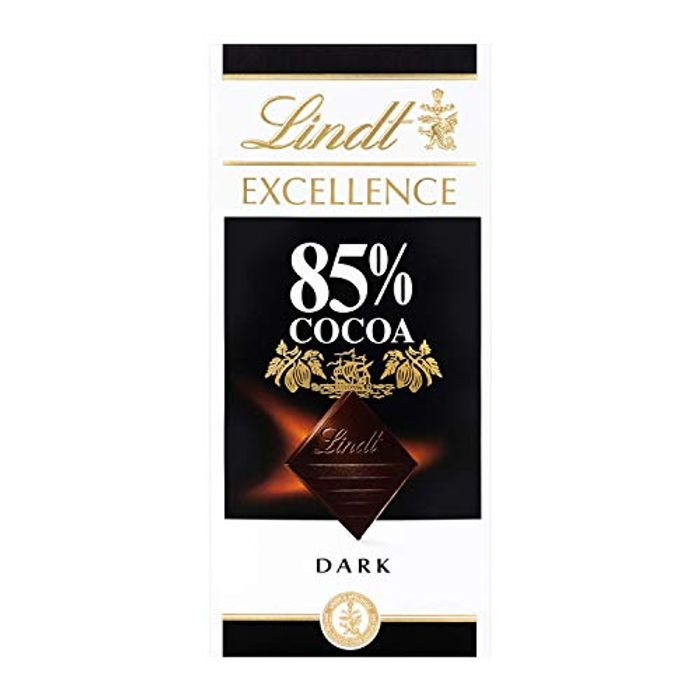Cheap Lindt Excellence Dark 85% Cocoa Chocolate Bar Each 100g - Only £1.33!