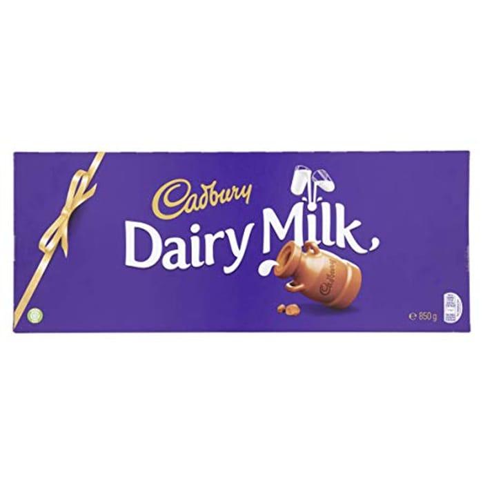 Cadbury Dairy Milk Chocolate Bar - 850 G ( Pantry Item)