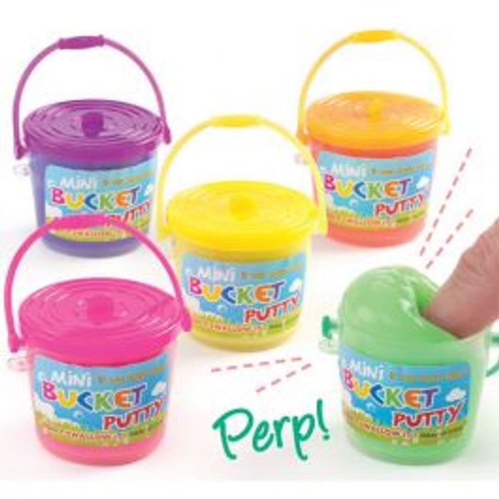 Mini Bucket Putty, Pack of Four