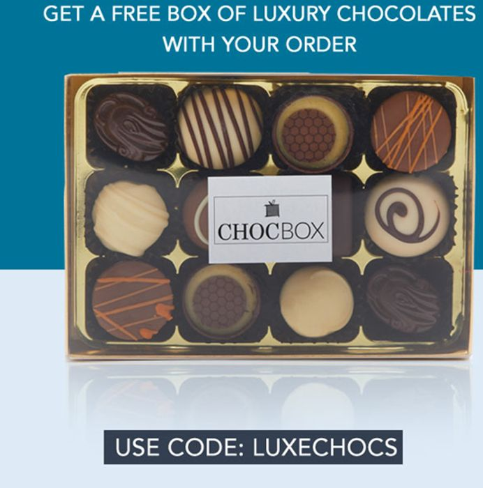Free ChocBox Indulgent Chocolates (200g) When Spending £18 or More