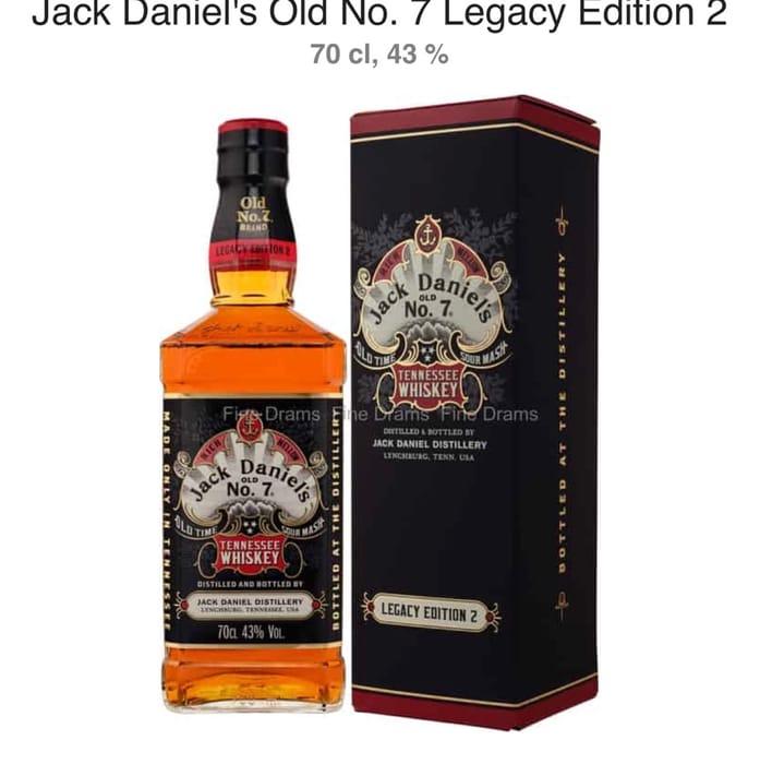 Jack Daniels Old No 7 Legacy Edition 2 70cl at Asda