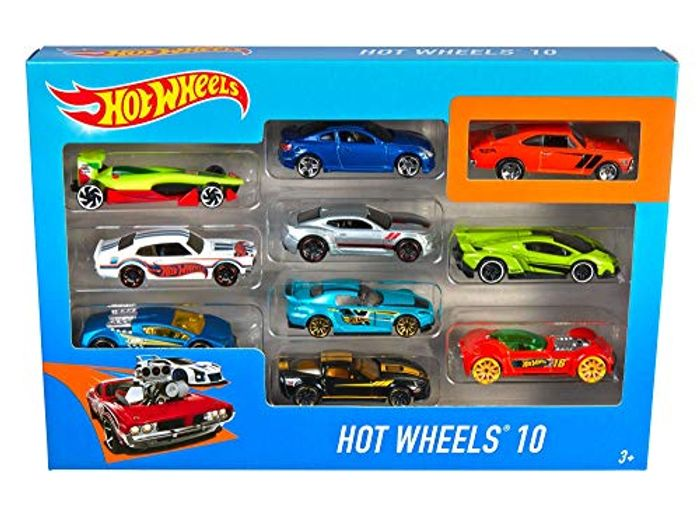 Hot Wheels - 10 Car Pack on Sale From £25.94 to £10