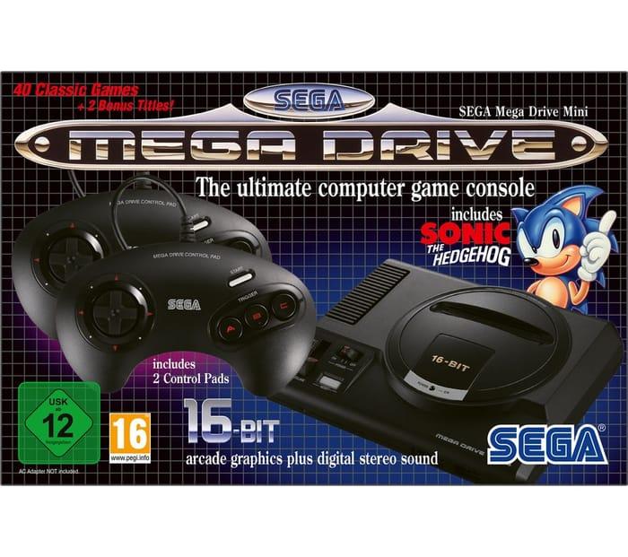 SEGA Mega Drive Mini Inc 42 Games - £44.99 Delivered With Code