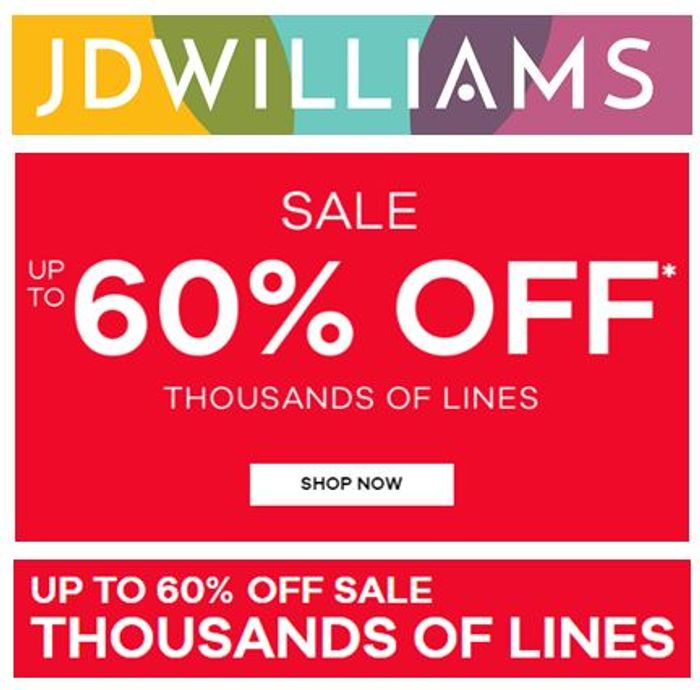 JD WILLIAMS SALE - Rummage Time Folks!