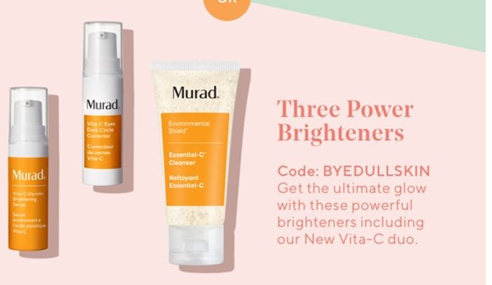 Free Skincare Trio with Orders at Murad