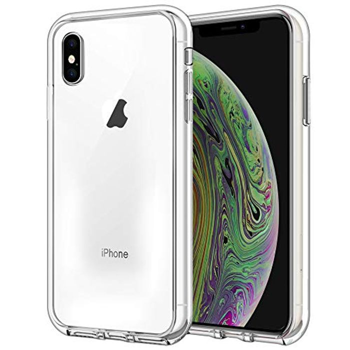 ISOUL Slim Protective TPU Case for iPhone XS, iPhone X, Scratchrpoof Clear HD