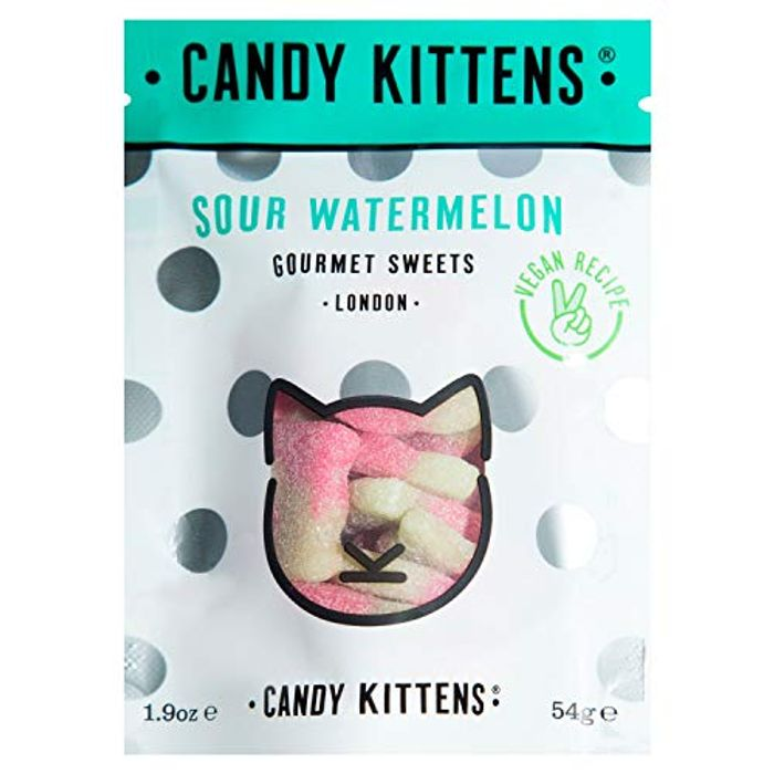 Candy Kittens Sour Watermelon Vegan Sweets 108g