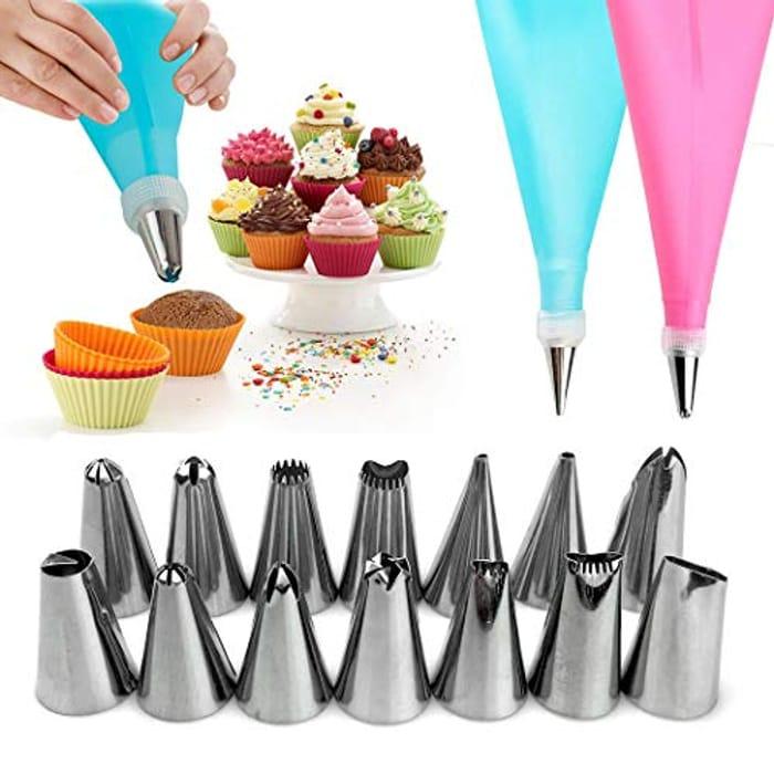 16Pcs/Set Cake Making Tools EVA Frosting Nuzzles