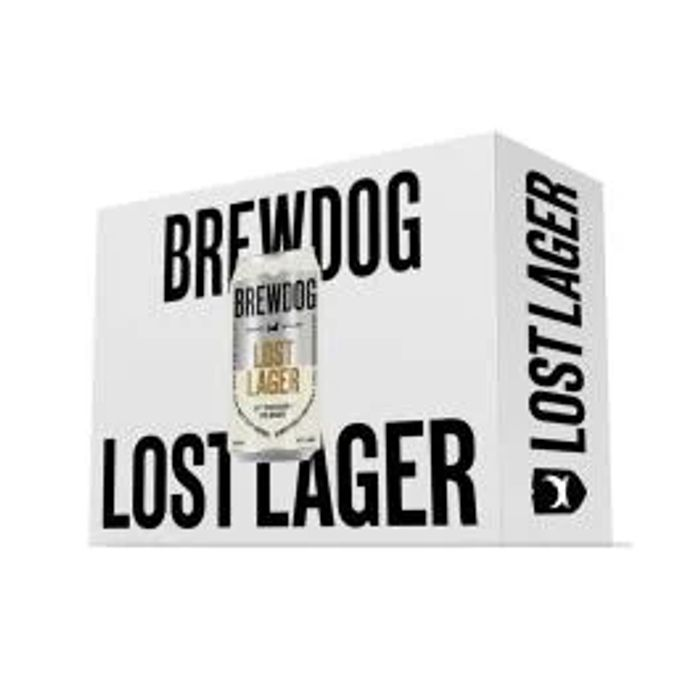 48 Cans of Brewdog Lost Lager Only £40.33 Delivered with Code