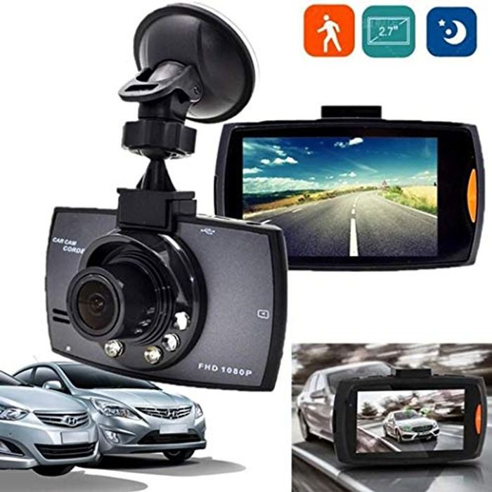 80% off HD LCD Car Dash Cam at Amazon