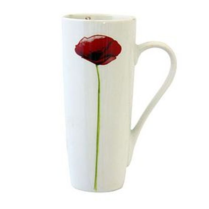 Tall Poppy Mug Down with 50% Discount - Great Buy!