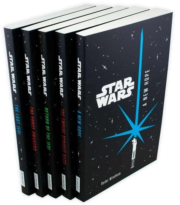 Cheap Star Wars 5 Book Junior Novel Collection - Only £12.99!
