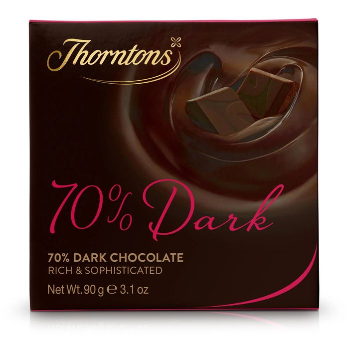 70% Deliciously Dark Chocolate Block (90g) (See All Offers Below)