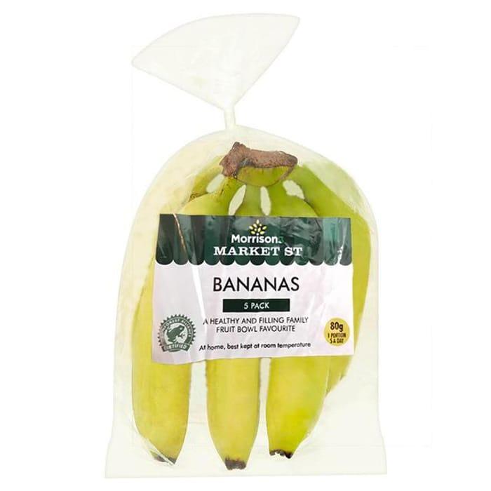 Morrisons Fruit Bundle - 5 Bananas, 6 Royal Gala Apples 28%off at Morrisons