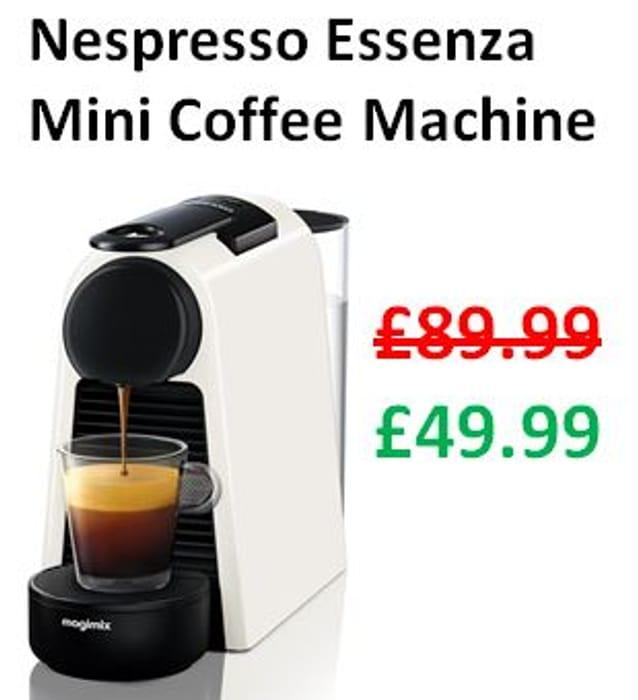 SAVE £40 - Nespresso Essenza Mini Coffee Machine