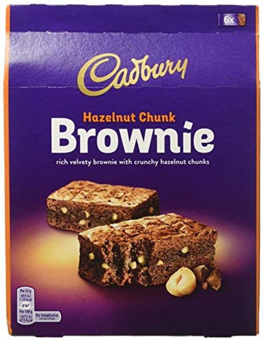 Cadbury Hazelnut Brownie 150 G