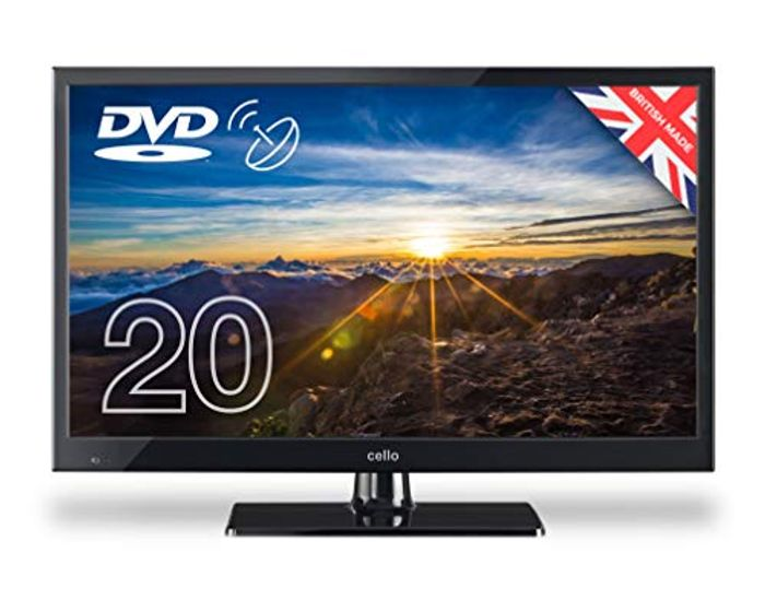 """Cello ZSF0202 20"""" LED TV/DVD Freeview HD with Satellite Receiver"""