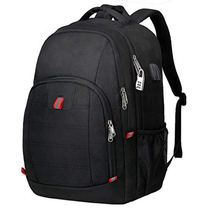 Laptop Backpack, Anti Theft Travel Business Backpack Bag with USB Charging Port