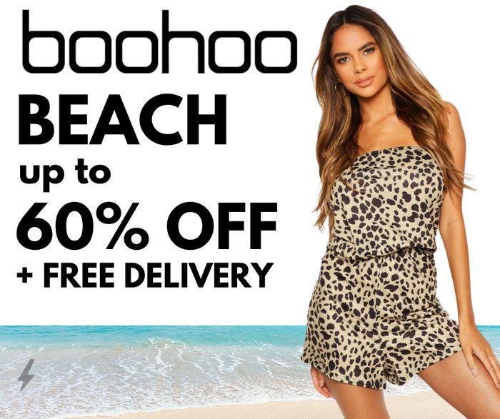 Beachwear at boohoo - Up To 60% Off + Free Delivery with Code