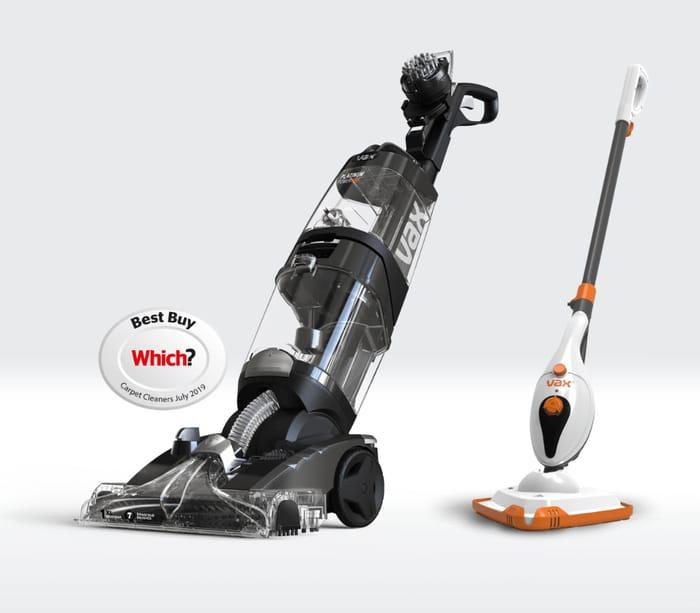 CHEAP!! Vax Platinum Power Max Carpet Cleaner + Free Steam Cleaner worth £69.99