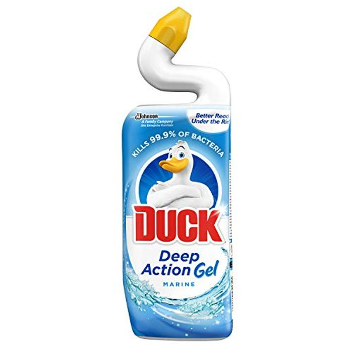 Duck Deep Action Gel Toilet Liquid Cleaner Marine, 750ml