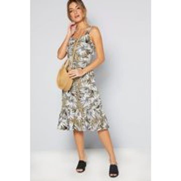 Palm Print Dress from Studio