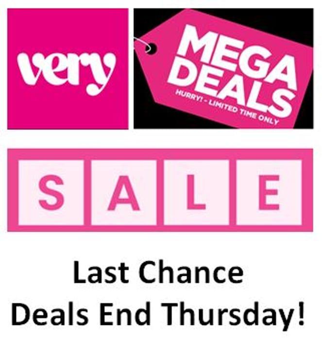 VERY SALE MEGA DEALS - Last Chance - Ends Thursday!