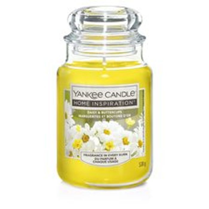 Yankee Large Jar - Daisy & Buttercups *125 Hours Burn Time