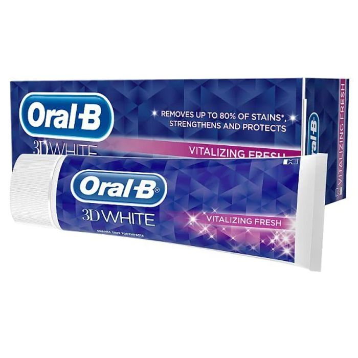 Cheap Oral-B 3D White Vitalizing Fresh Toothpaste 75ml Only £1.89!