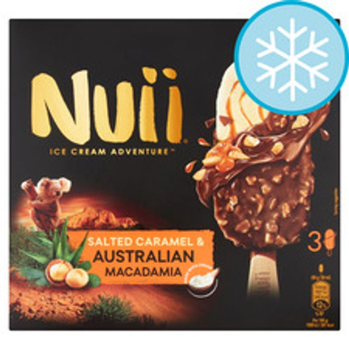 Cheap Nuii Salted Caramel Macadamia Ice Cream Sticks Only £1.94!